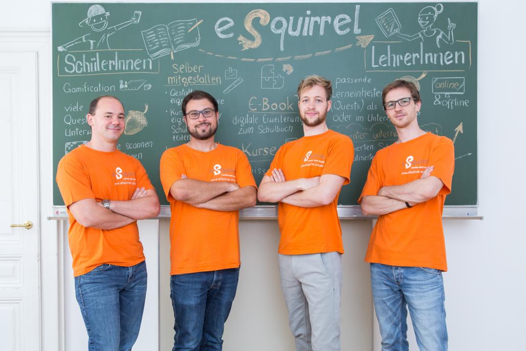 eSquirrel ist die digitale innovative österreichische Lösung für modernen Schulunterricht