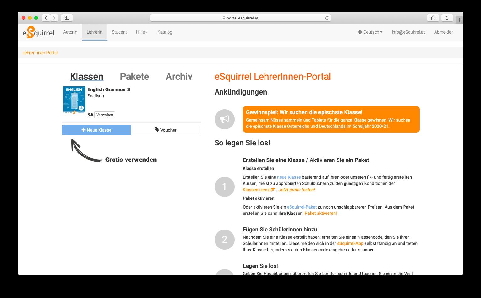 LehrerInnen-Portal
