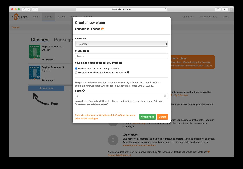 Create-a-new-class-via-portal