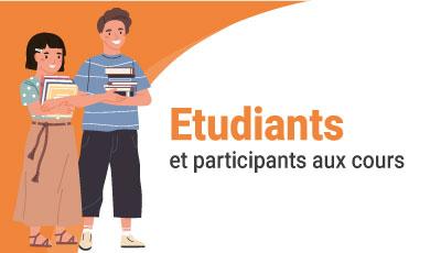 Pour les étudiants et les participants aux cours