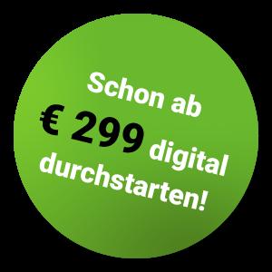 Schon ab € 299 digital durchstarten!